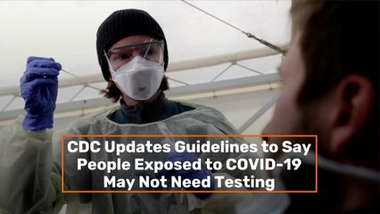 New CDC Testing Guidelines