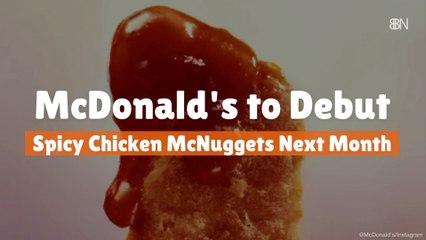 New Spicy Chicken McNuggets