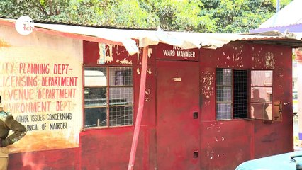 Poor state of Government offices in Embakasi