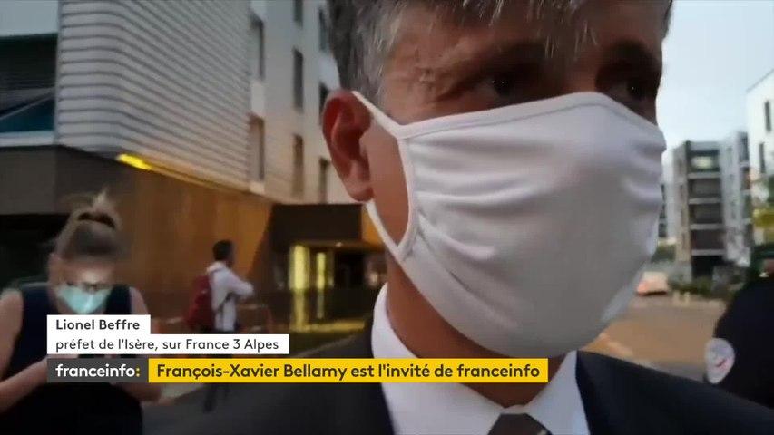 """Montée des violences, gestion de l'épidémie, primaire à droite... Le """"8h30 franceinfo"""" de François-Xavier Bellamy"""