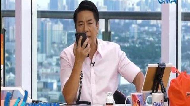 Wowowin: Isang caller, hindi naniwalang si Kuya Wil ang kausap niya!