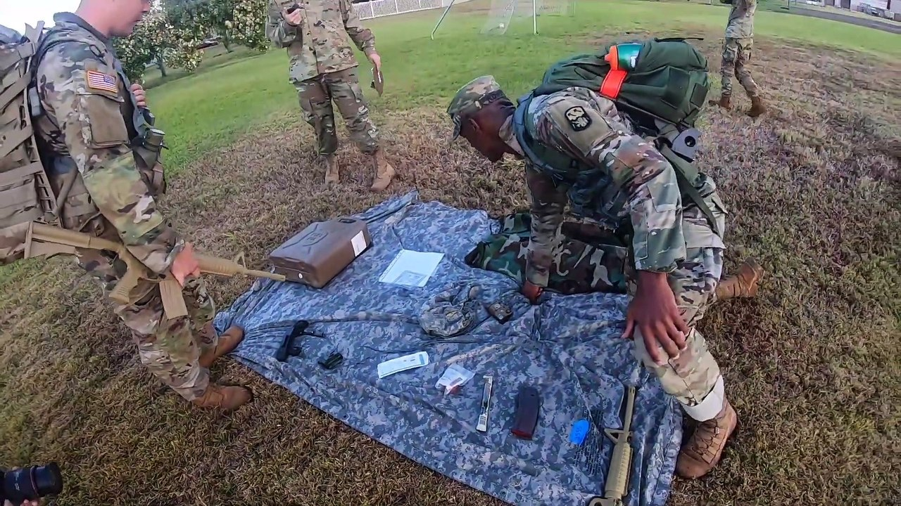 U.S Army Soldier • Best Warrior Competition • Aug 25, 2020 Hawaii