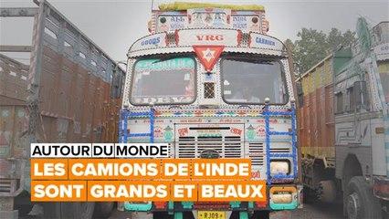 Autour du monde : l'art des camionneurs indiens