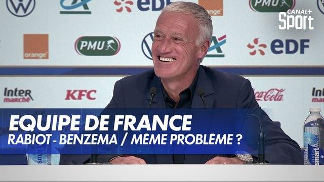 La question Benzema à Didier Deschamps