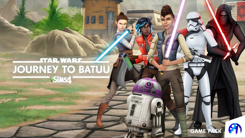 The Sims 4 Star Wars: Journey to Batuu - Reveal Trailer | Gamescom 2020