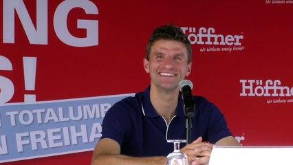 Thomas Müller - Einrichtungsfragen bei Müllers @ Interview bei Möbel Höffner