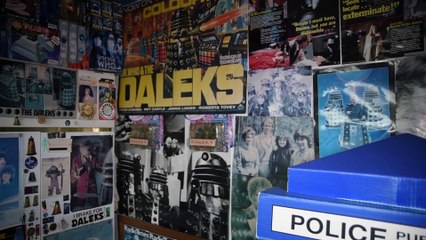 Is this the biggest Doctor Who collection in the world?