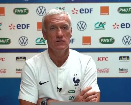 """France - Deschamps : """"Je n'ai jamais exigé d'excuses de Rabiot"""""""