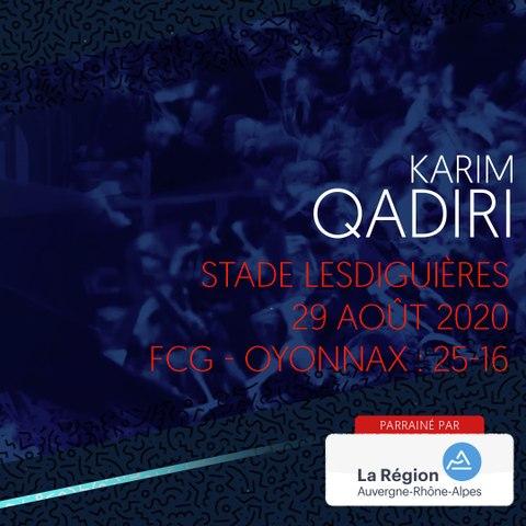 Video : Video - L'essai de Karim Qadiri face à Oyonnax, saison 2020-2021