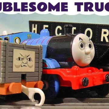 Thomas and Friends Troublesome Trucks Pranks Full Episodes with Marvel Avengers Hulk and the Funny Funlings with Tom Moss in these Family Friendly Toy Story Videos for Kids from a Kid Friendly Family Channel