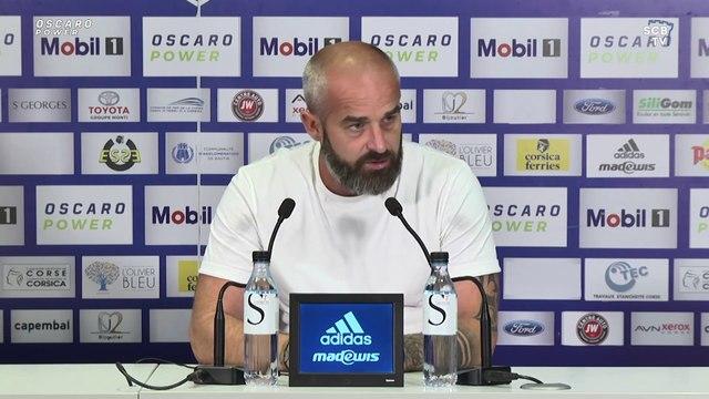 FC Bastia-Borgo - SC Bastia : Conférence de presse d'avant-match de M. Chabert