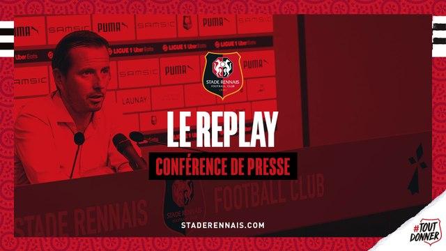 J2. #SRFCMHSC - Le replay de la conférence de presse d'avant-match