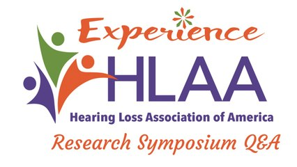 Research Symposium: The Latest on Tinnitus Research  and Navigating the Workplace with Hearing Loss Q&A