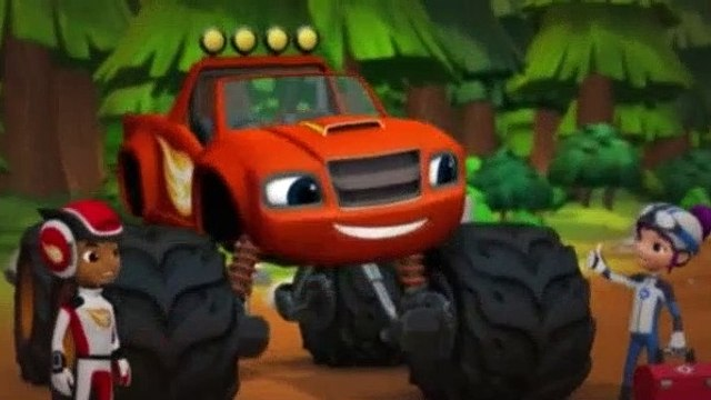 Blaze and the Monster Machines Season 1 Episode 20 Sneezing Cold