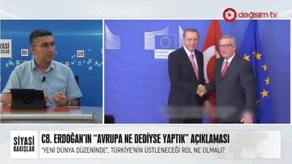 CB. Erdoğan: Avrupa Ne Dediyse Yaptık | Doğu Akdeniz'de Yaşananlar | Pompeo'nun Ortadoğu Turu