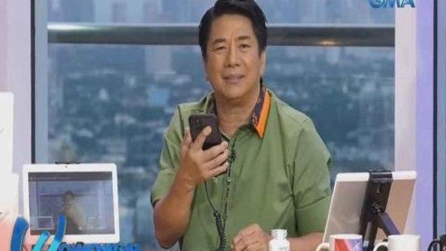 Wowowin: Gadget na pang-online class ng anak ng caller, sagot na ni Kuya Wil!