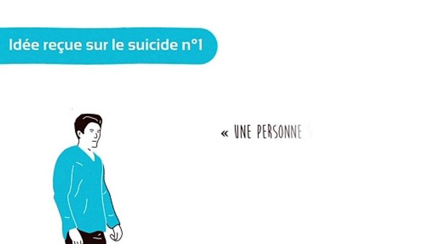 Idée recue n°1: une personne suicidaire veut réellement mourir
