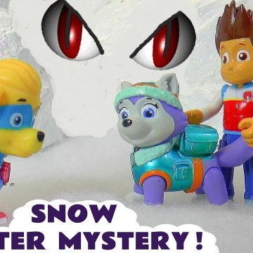 Paw Patrol Mighty Pups Mighty Twins Snow Monster Mystery with the Funny Funlings and Thomas and Friends in this Family Friendly Full Episode English Toy Story for Kids