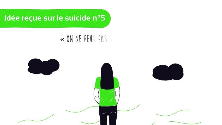 Idée reçue sur le suicide n°5: on ne peut pas stopper quelqu'un qui a l'intention de se suicider