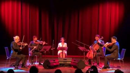 Burcu Yeşilbaş & Anadolu Quartet - Trabzon'dur Yolumuz
