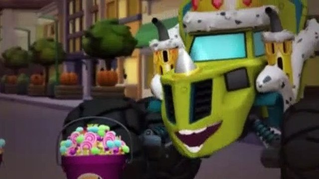 Blaze and the Monster Machines Season 2 Episode 3 Truck or Treat