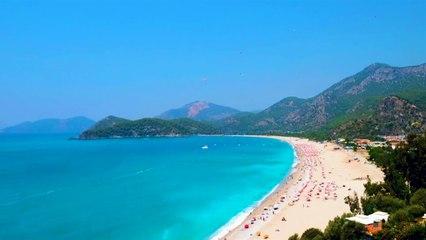 Tüm Güzelliğiyle Karaot Plajı