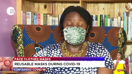 Re-usable face masks during Covid