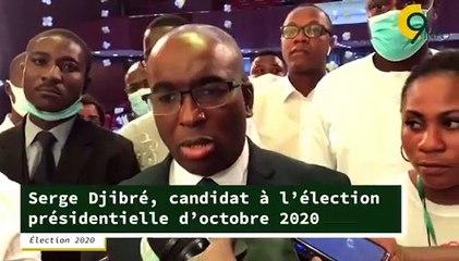 Le candidat citoyen Serge Djibré investi