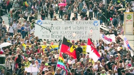 Anti-Corona-Demo in Deutschland