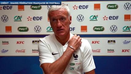 Didier Deschamps revient sur le but magique d'Eduardo Camavinga ce week-end