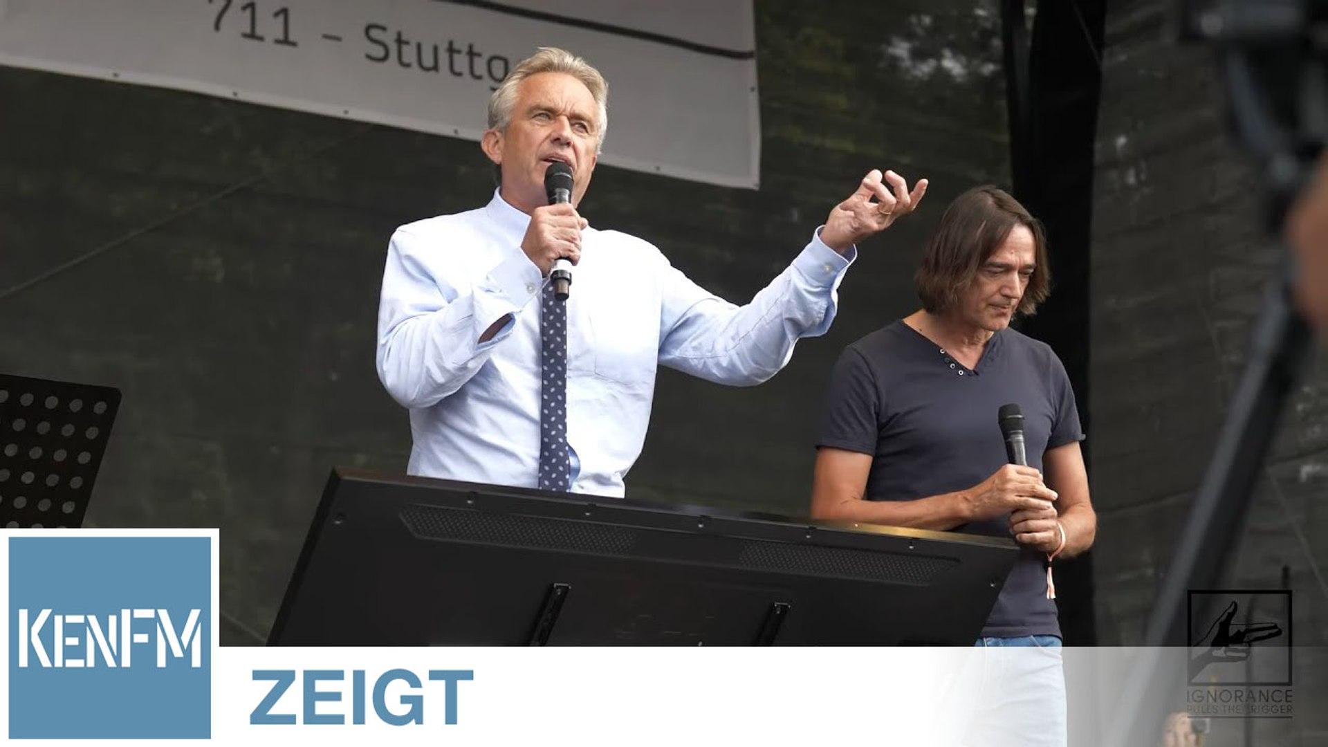 Demo Berlin 29.8.2020: Auschnitte der Rede von Robert F. Kennedy und Stimmungsbilder