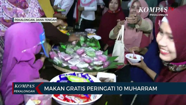 Peringati 10 Muharram, Warga Gelar Pasar Jajan Tradisional - Video  Dailymotion