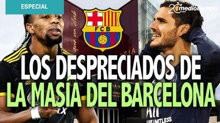 Los despreciados del Barcelona que hoy brillan lejos