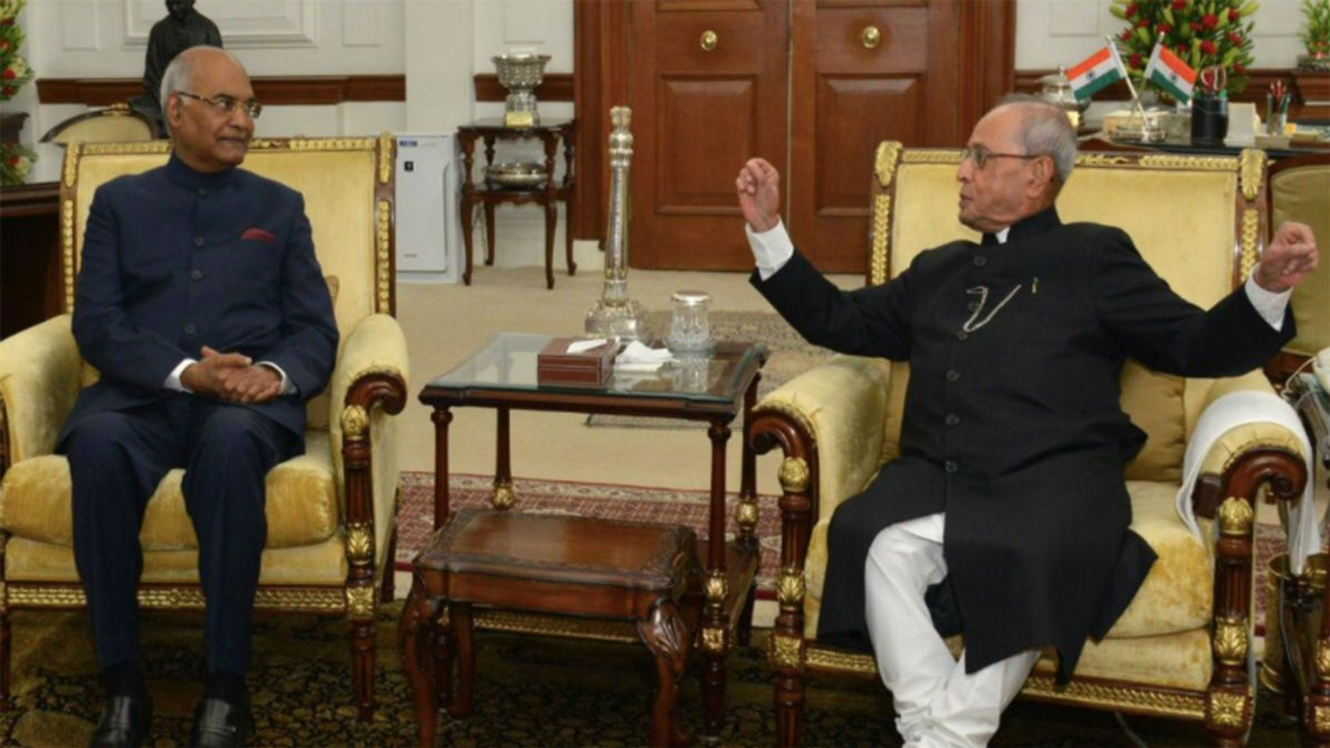 President Kovind pays last respects to Pranab Mukherjee