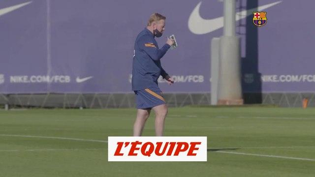 Messi absent de l'entraînement de reprise - Foot - ESP - Barça