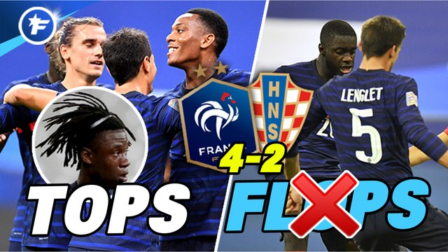 Les tops et flops de France-Croatie