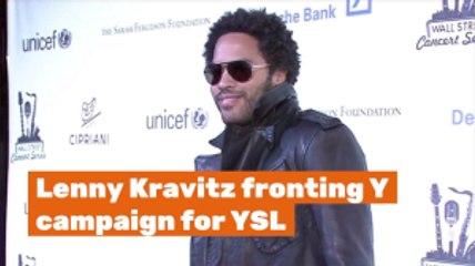 Lenny Kravitz Has A New Fashion Gig