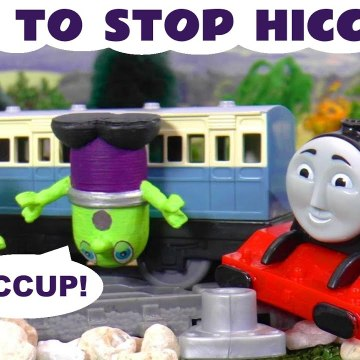Funny Funlings Hiccup Accident with Thomas and Friends and Marvel Avengers The Hulk in this Family Friendly Full Episode English Toy Story for Kids from Kid Friend;y Family Channel Toy Trains 4U