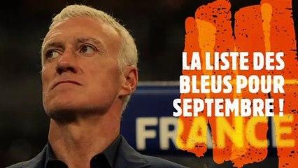 La liste des Bleus de Didier Deschamps pour affronter la Suède et la Croatie !