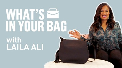 What's In Your Bag? With Laila Ali