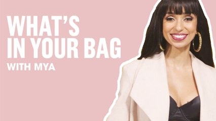 Mya Shares Her Tips On Buying Vegan Cosmetics   What's In Your Bag