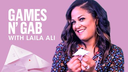 Laila Ali Dishes On Cookbook And New TV Show   Games N' Gab