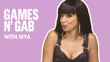 Singer Mya Reveals Her Girl Crush   Games N' Gab