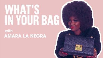 Amara La Negra   What's In Your Bag