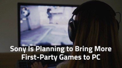 Sony Makes Games For PC