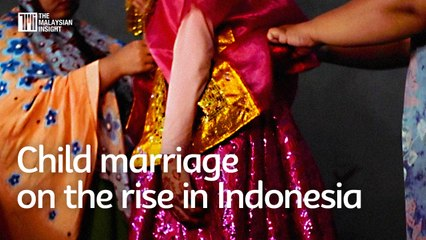 Indonesia sees increase in child marriages due to poverty, school closures
