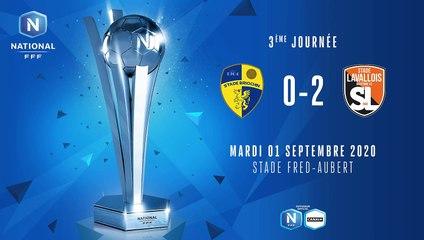 J3 Stade Briochin - Stade Lavallois (0-2) FFF TV