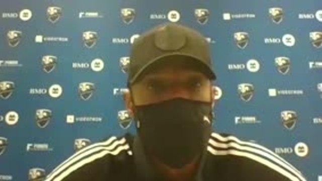 """Impact Montréal - Henry : """"Il ne faut pas s'enflammer, mais ça fait du bien au moral"""""""