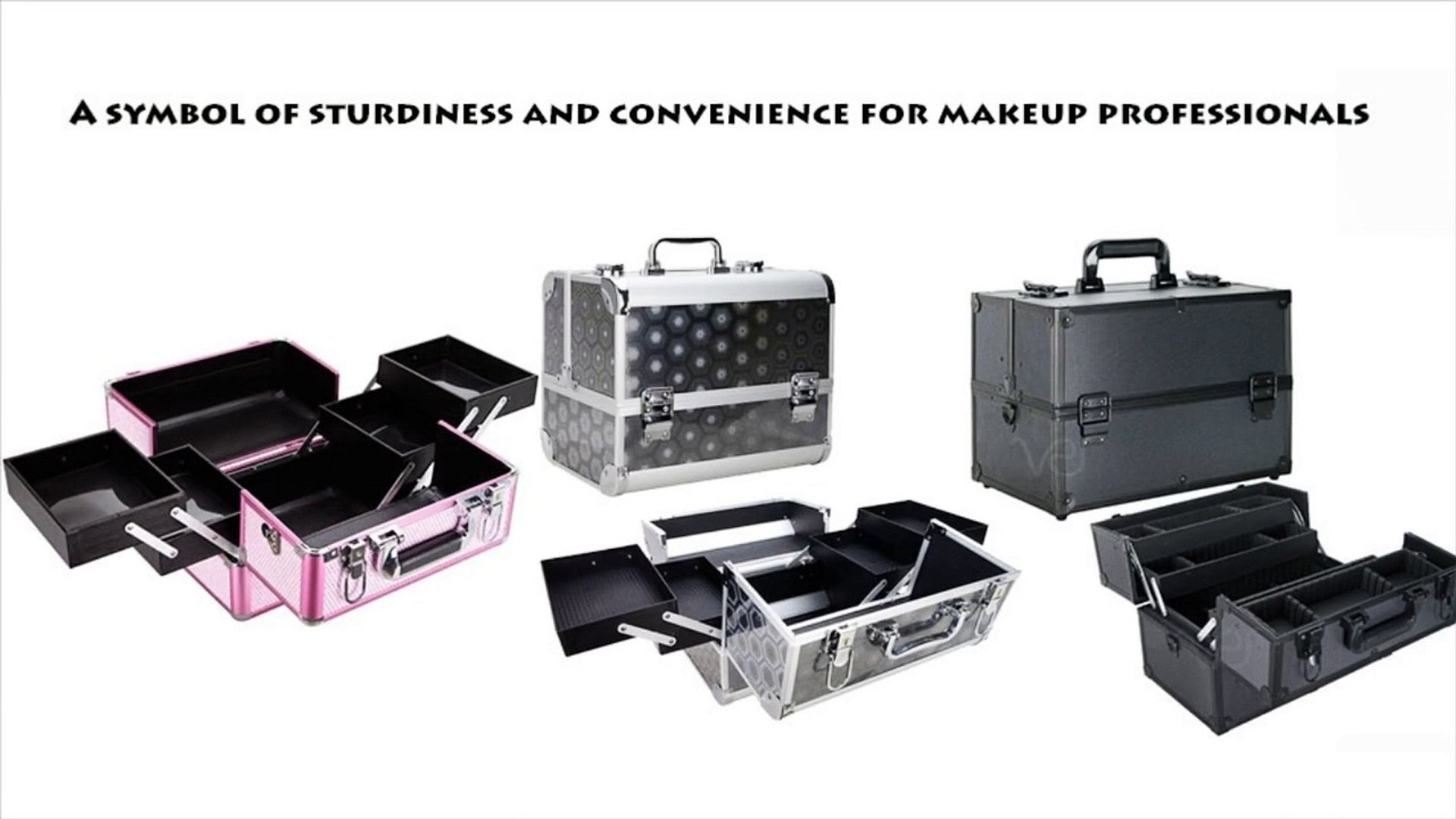 Aluminum makeup case and furniture – A symbol of sturdiness and convenience for makeup professionals
