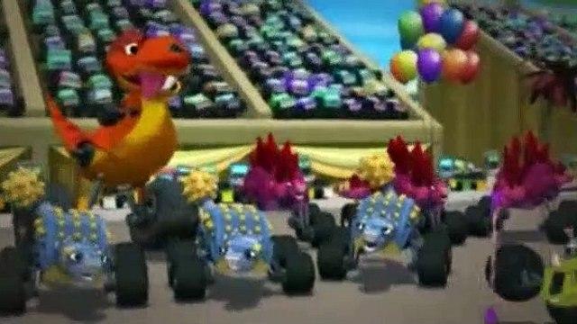 Blaze and the Monster Machines Season 2 Episode 15 Dinosaur Parade